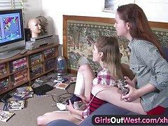 دختران رتبهٔ غرب - مودار و لاغر تالار جوجه لزبین