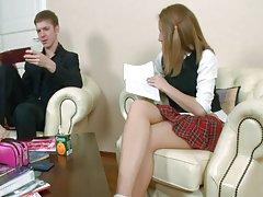 ستاره شرق دختر مدرسه بیشتر از روسیه
