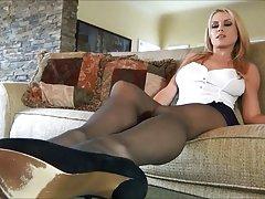 randy مور در جوراب شلواری