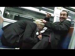 لعنتی در مترو فرانسوی
