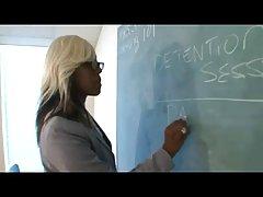 غنیمت بزرگ سیاه ms.lolipop معلم