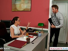 دفتر شخص ساده و معصوم در عینک لعنتی kortney کین