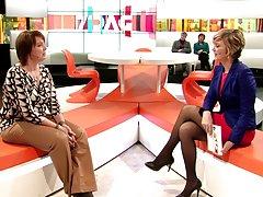 بلژیک تلویزیون میزبان wonderfull پاها