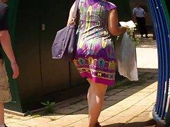 لاتینا غنیمت در تابستان لباس culo الاغ