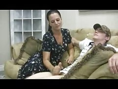 Stacey را مادر - handjob cfnm ورونیکا