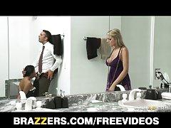 brazzers - ورزش ها busty دارسی تایلر و بهترین دوست او