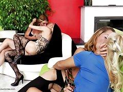 سکس گروهی لزبین کامل با دختران مادران و جوان