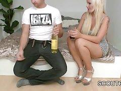 آلمان گام خواهر bro به فرض پس از نوشیدن از راه بدر کردن