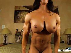 aziani آهن salvagno آنجلا بدنسازان زن را با بزرگ clit